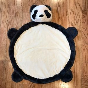 EUC Pottery Barn Kids panda play mat